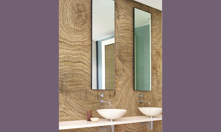 Behang in de douche yoy styling en interieuradvies - Behang in de badkamer ...